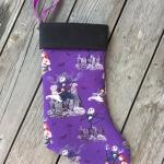 The Nightmare Before Christmas Purple Socks