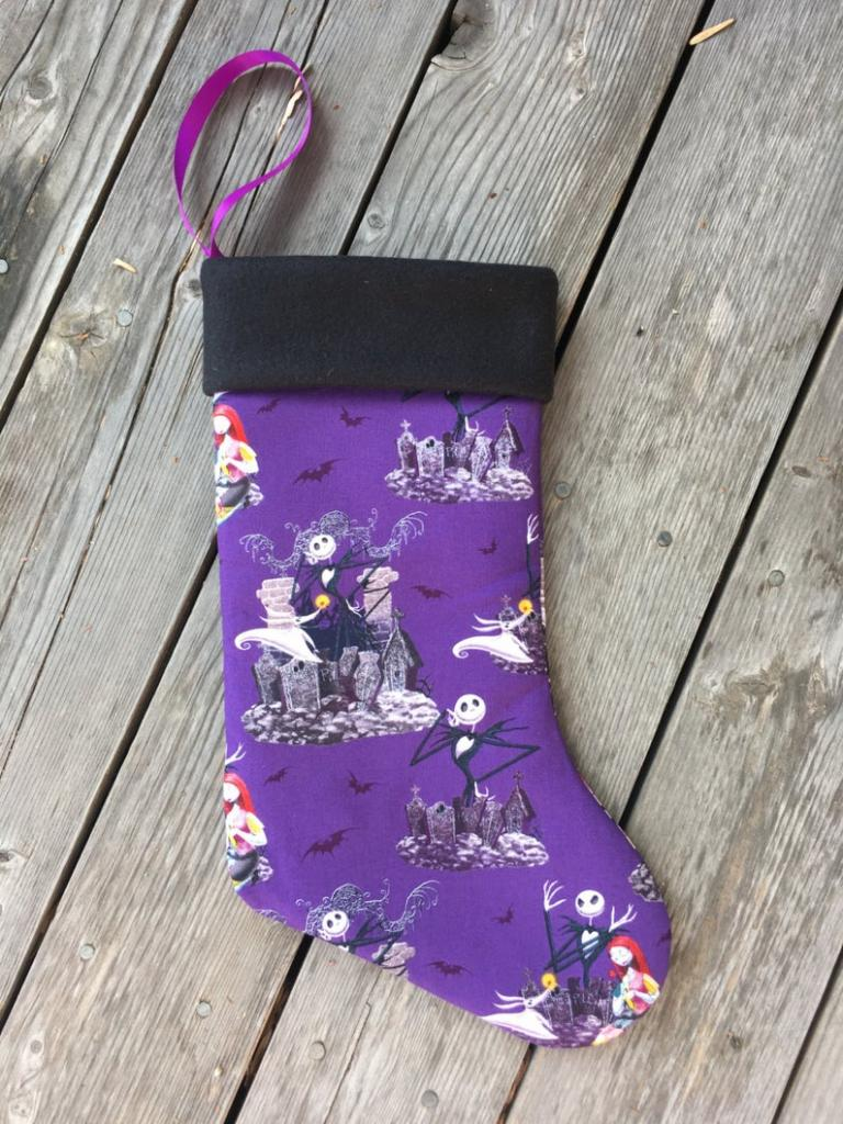The Nightmare Before Christmas Stocking