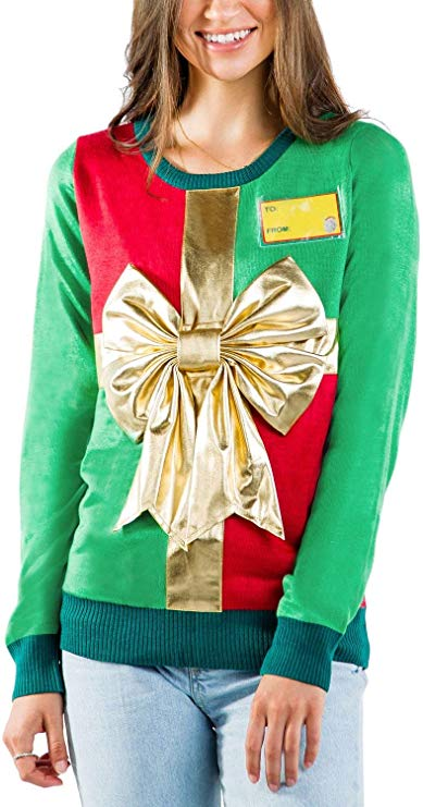 Cute Wrapping Paper Christmas Sweater