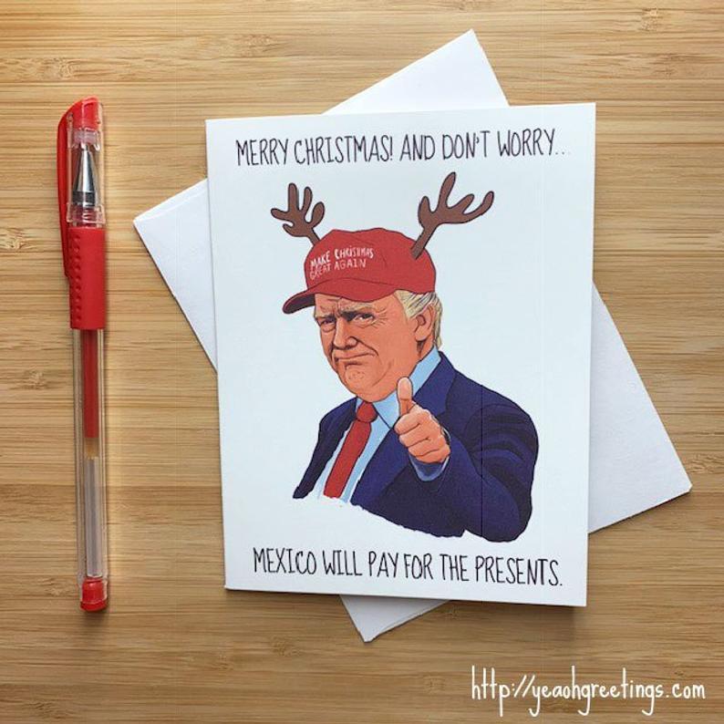 Trump Christmas card