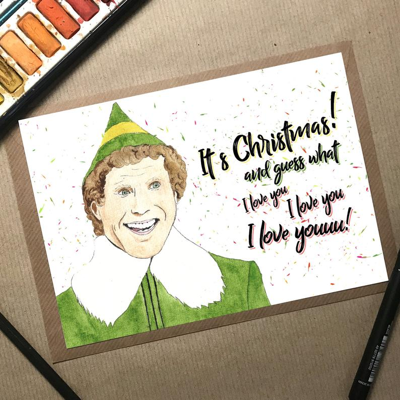 Will Ferrell Christmas card