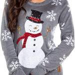Women-Sequin-Snowman-Christmas-Sweater