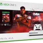 Xbox One S 1 TB NBA 2K20 Bundle