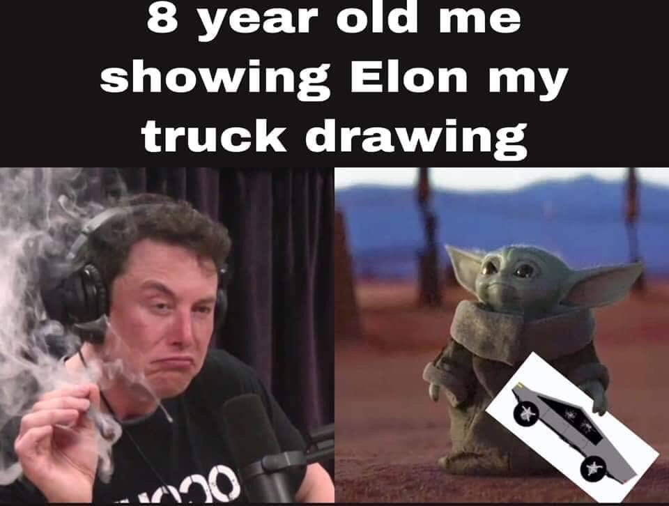 elon must baby yoda meme