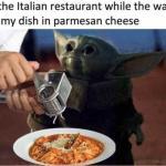 funny-baby-yoda-meme-in-italian-resturant-