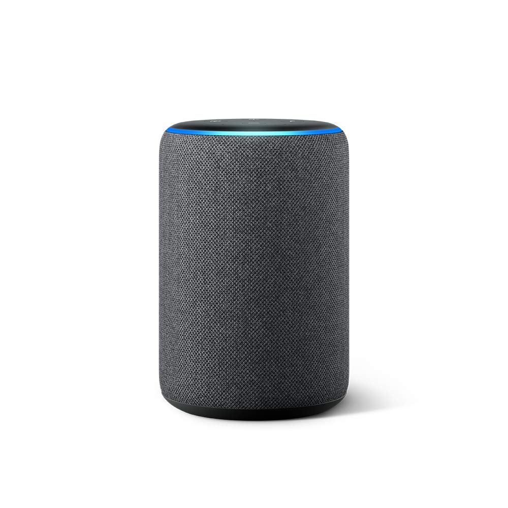 new echo 3rd generation smart speaker