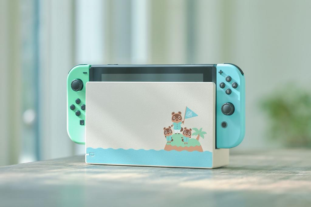 Animal Crossing-themed Switch