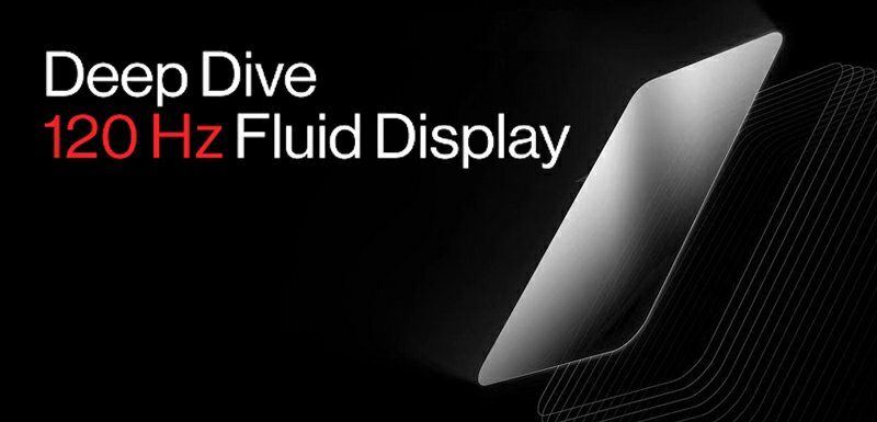 OnePlus fluid displays