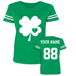 Custom Jersey Style St Patrick's Day T Shirt