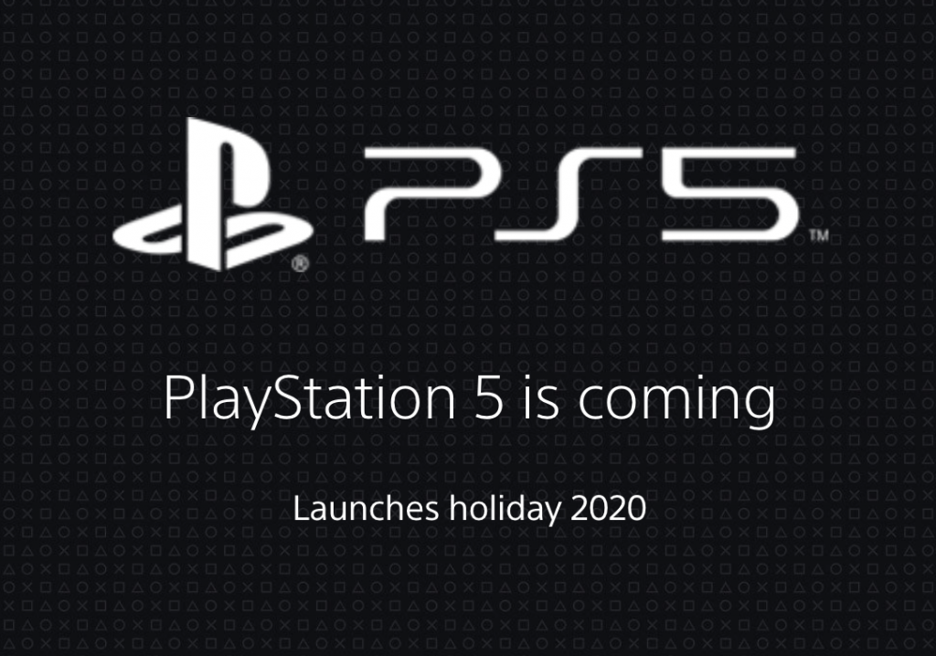 Playstation 5 is coming soon