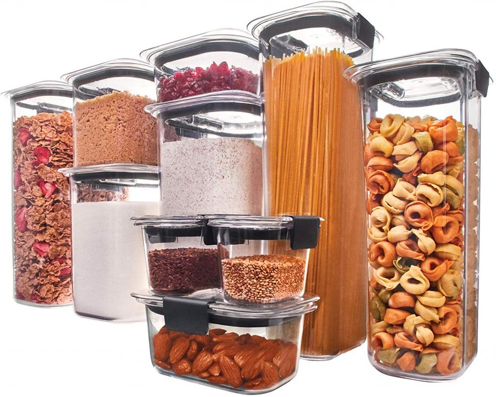 Rubbermaid Brilliance Pantry Organization & Food Storage Containers