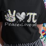 Peace Love Pi Shirt