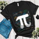Pi Day Math Equation Shirt