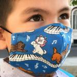 CATS Children's Reusable Soft-Touch Cotton Face Mask
