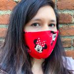 Minnie Mouse Fabric Face Mask