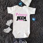 Princess Baby Jedi Star Wars Baby Bodysuit