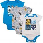 Star Wars Baby Bodysuit Onesie Creeper for Newborn and Infant Boys