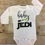 Star Wars Baby Jedi Onesie