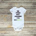 Star Wars The Force One Piece Romper