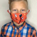 The Incredibles Kids fabric face mask