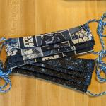 Black and Gray Star Wars Face Mask