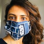 Blue Star Wars Face Mask