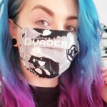 Darth Vader Star wars Face Mask With Filter Pocket