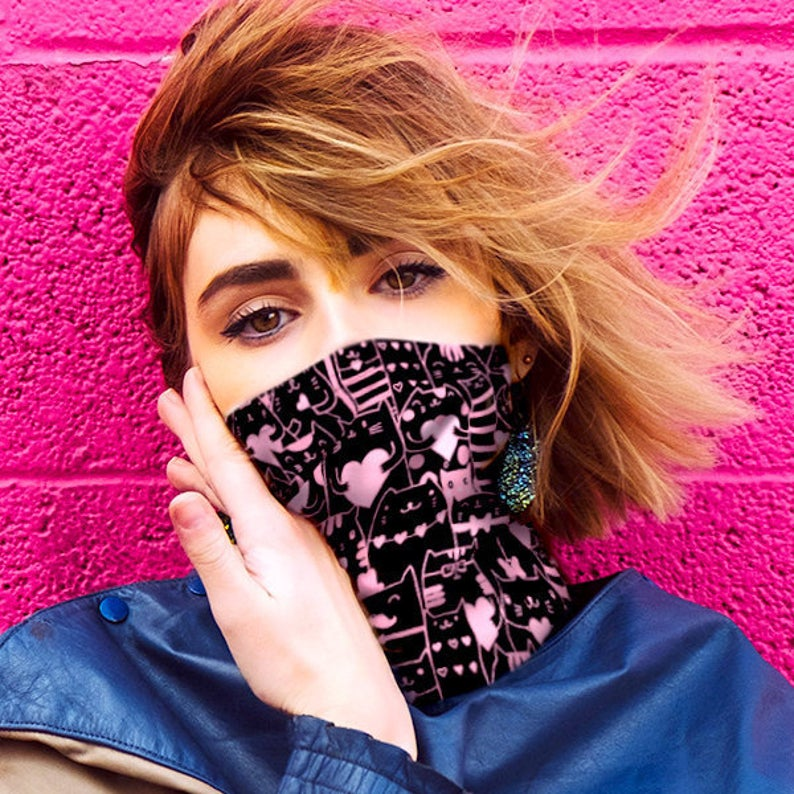 13 Ridiculously Cool Face Mask Bandanas and Neck Gaiters