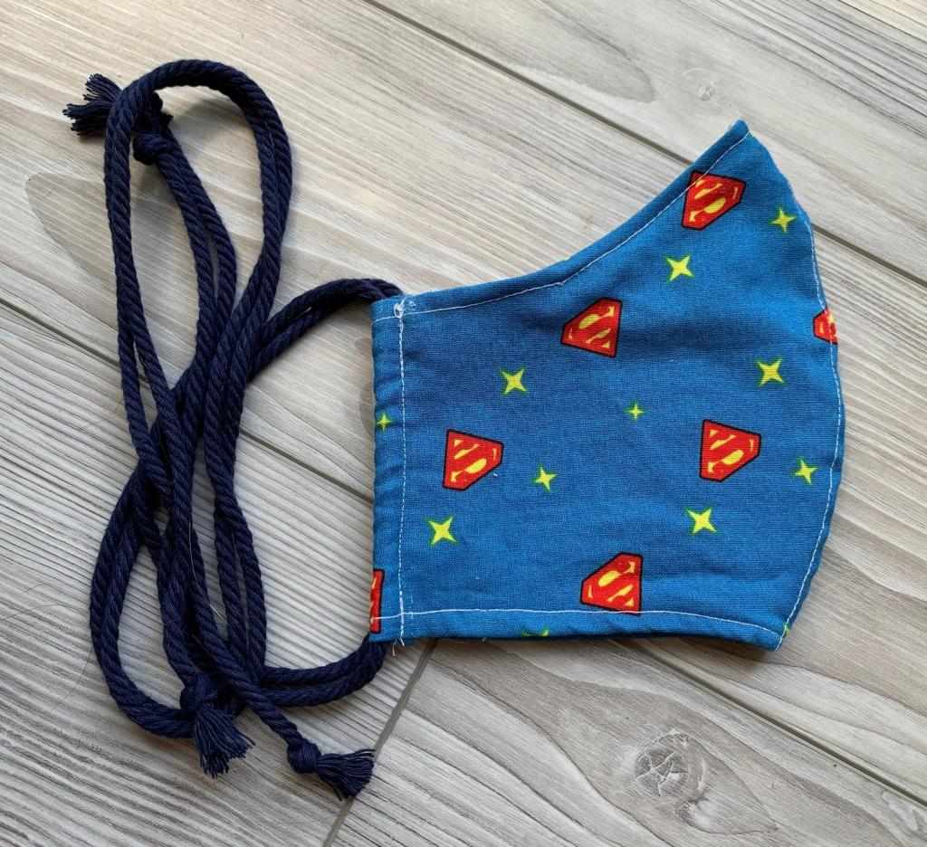 Washable Superman Face Mask
