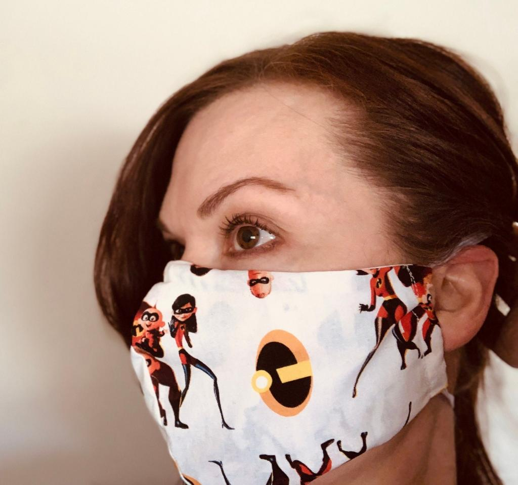 The Incredibles Face Masks