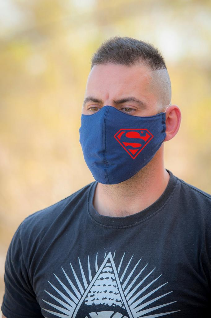 Superman Face Masks for Men