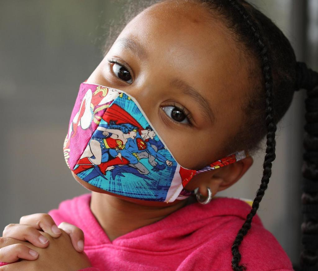 Two-layer Face Mask for Kids