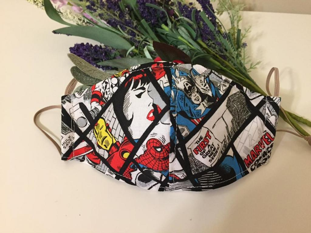 Superhero Face Mask for Teens and Kids