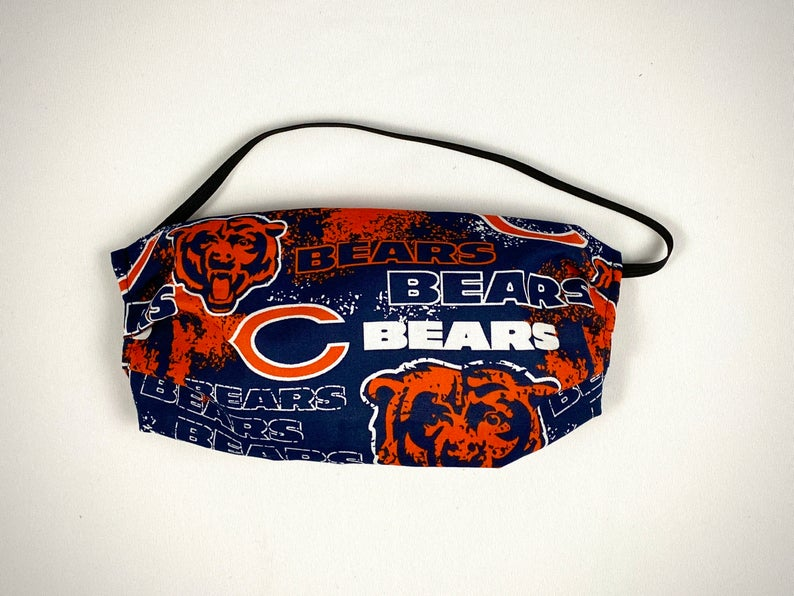 Dust-proof Chicago Bears Face Mask