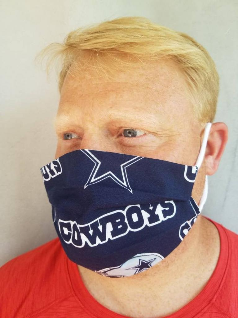 Stylish Dallas Cowboys Face Mask