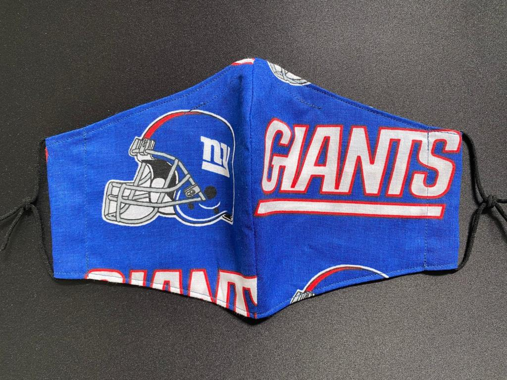 NY Giants Face Masks with Filter Pocket