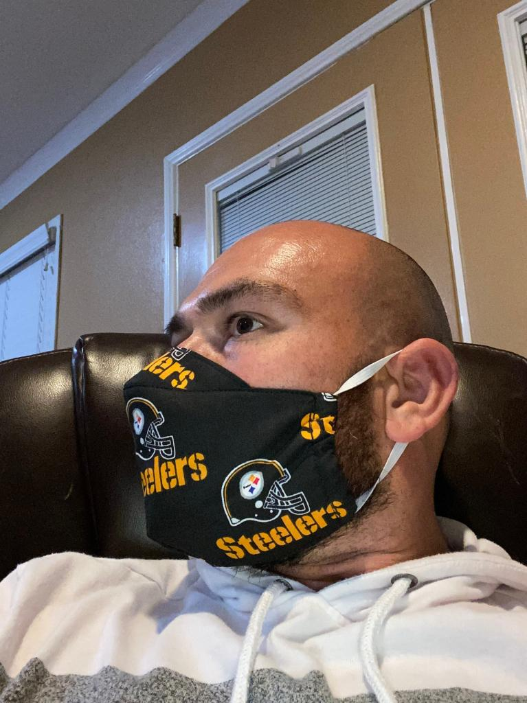 Super Cool Pittsburgh Steelers Face Mask