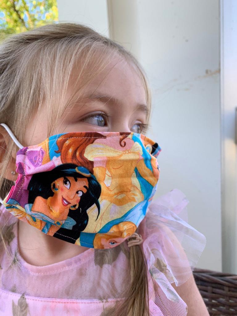 Disney Princess Face Mask for Kids