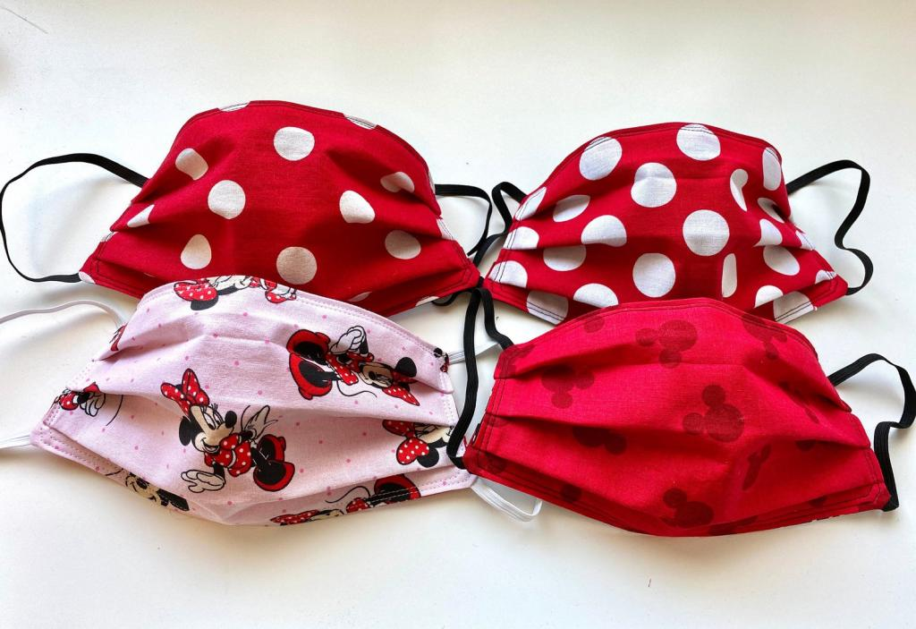 Minnie Mouse Mask for Women and Kids
