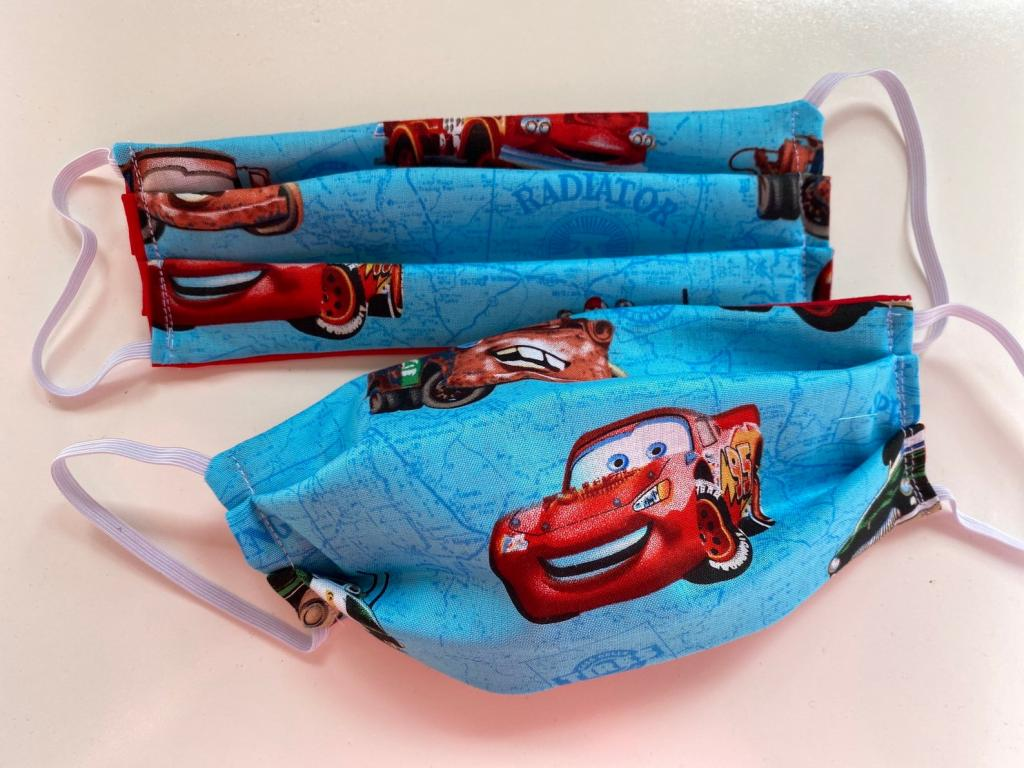 Disney Car Face Mask with Washable Filter