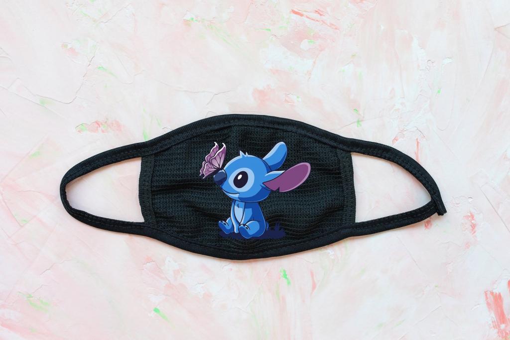 Lilo and Stitch Face Mask