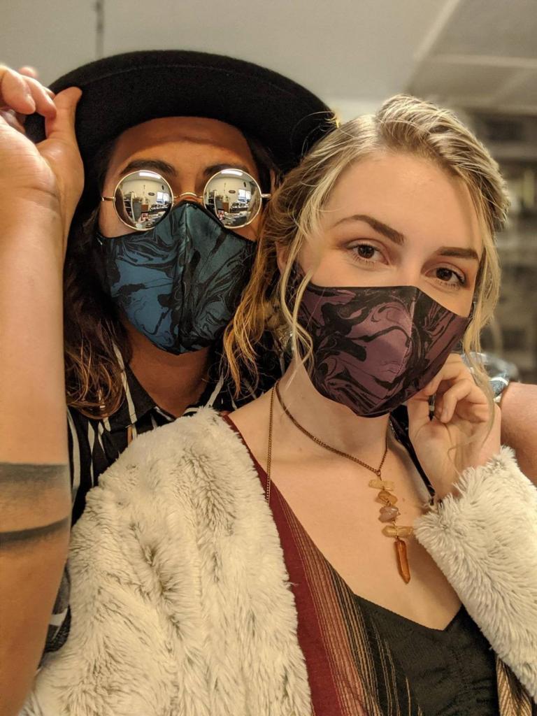 Glamorous masks for couples