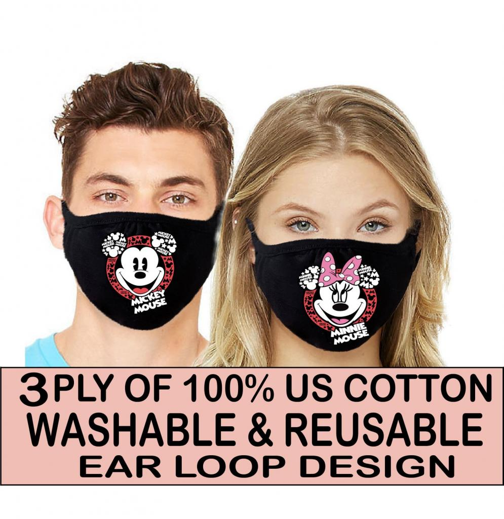 Cute face masks for couples