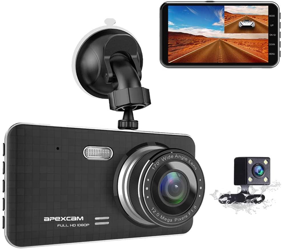 Apexcam Tour 4 Dash Camera