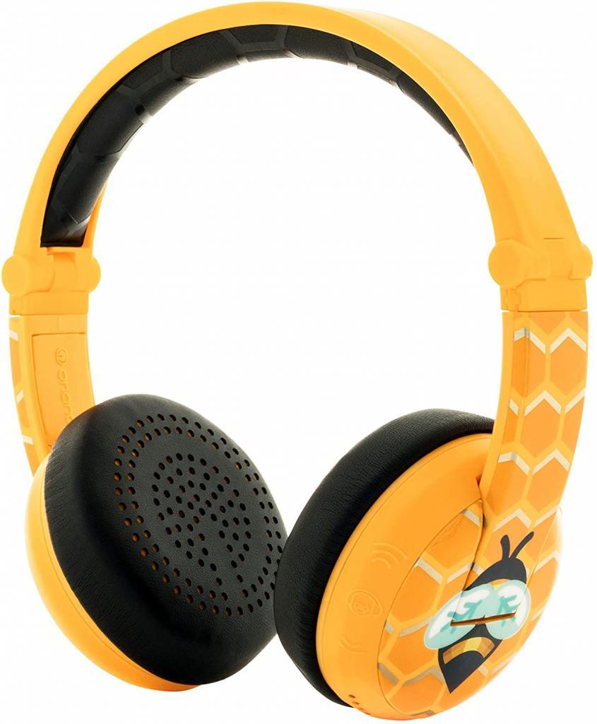 BuddyPhones Wave Wireless Volume-Limiting Kids Headphones