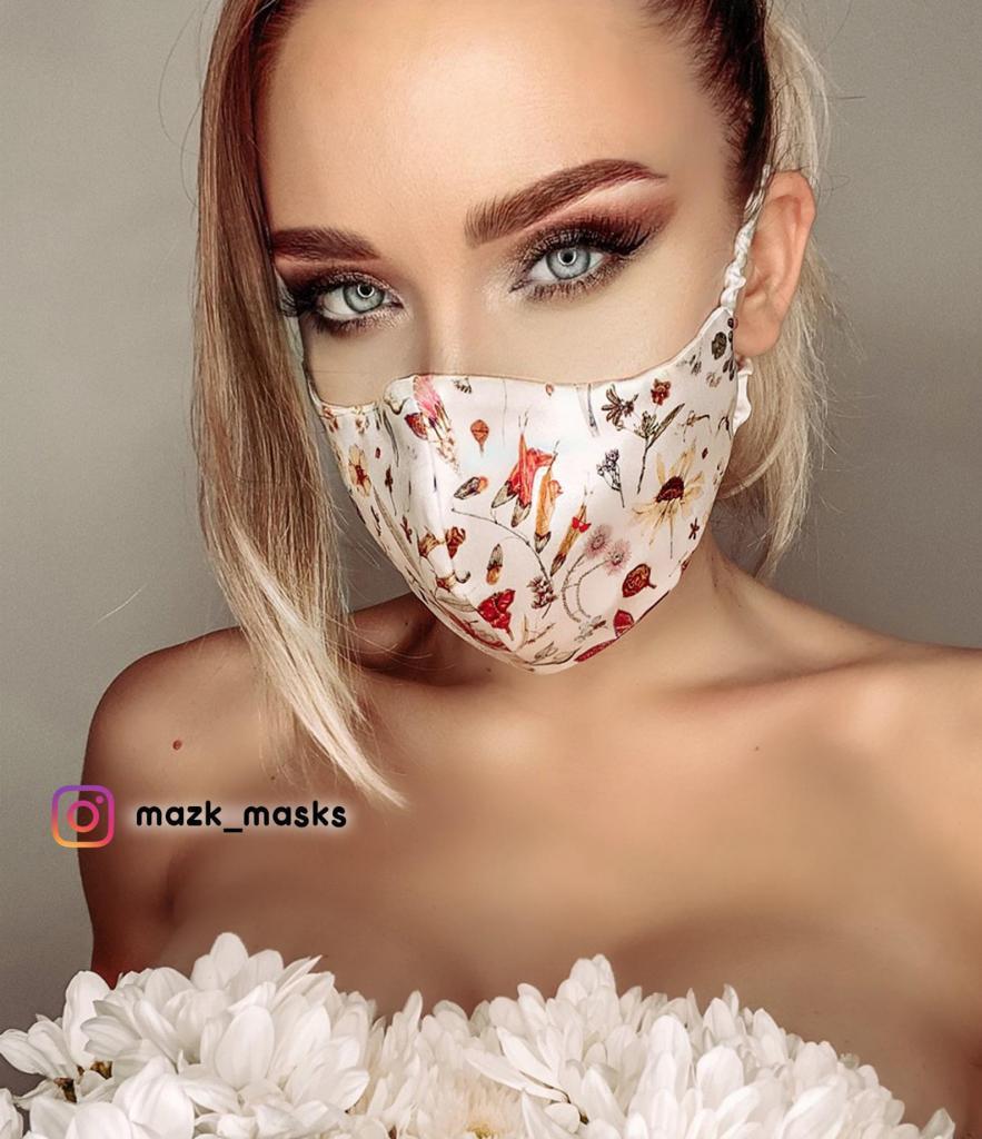 Decadent Satin Silk Face Mask