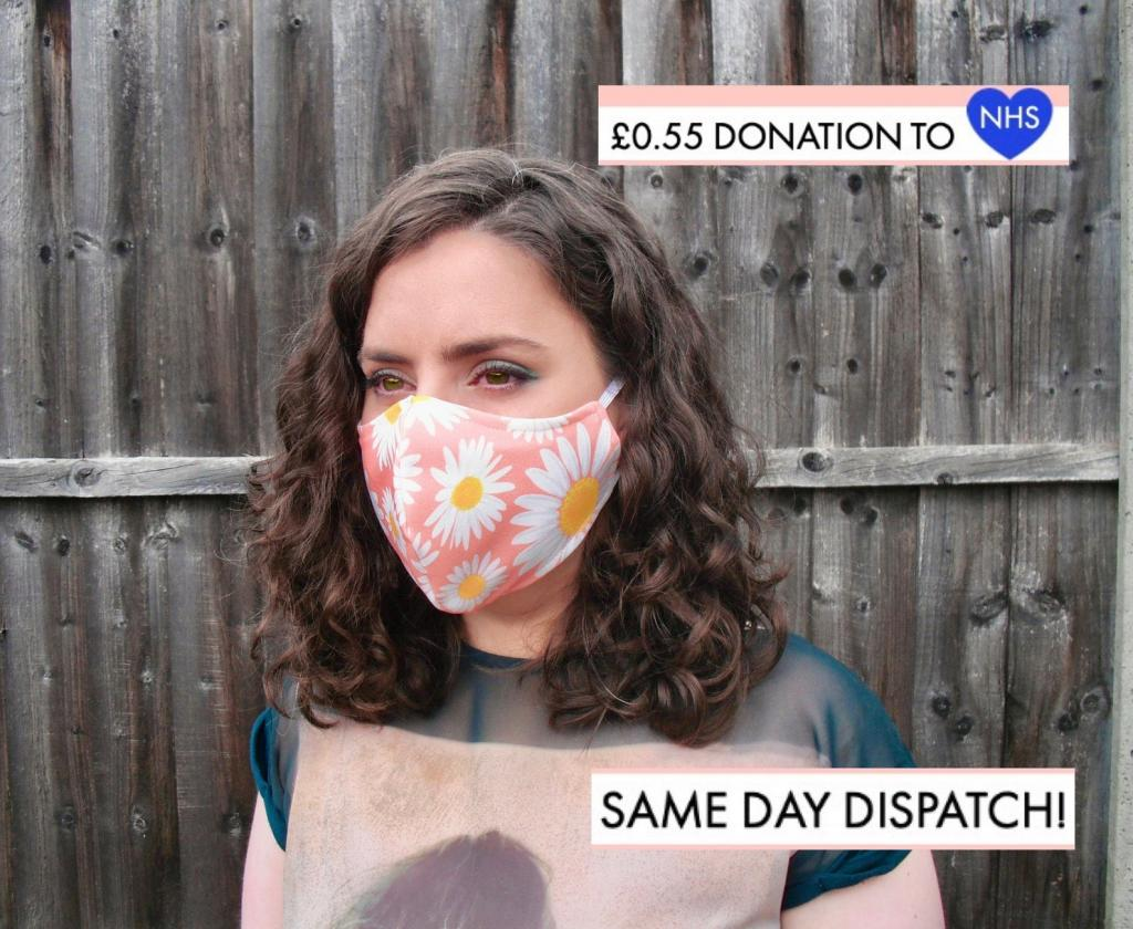 Lightweight Breathable Face Masks in Floral Prints