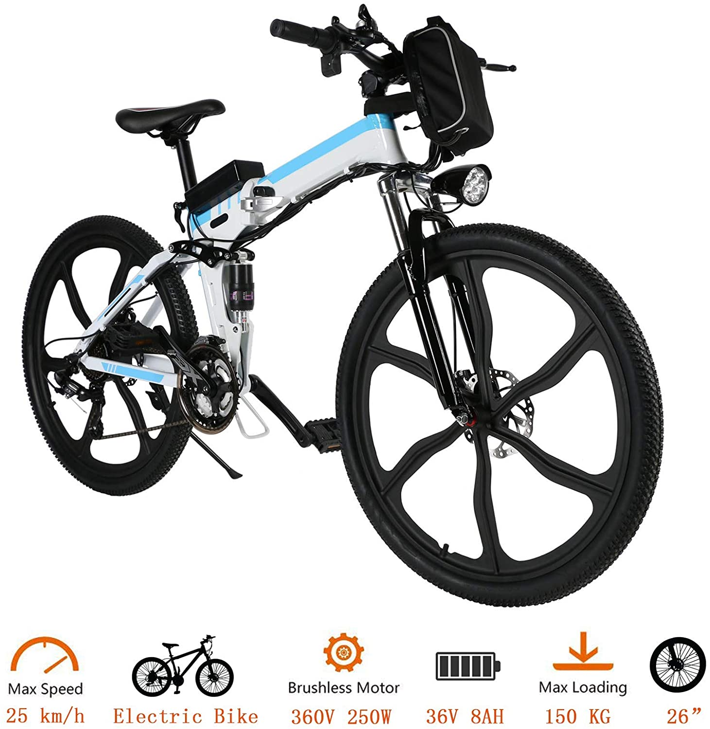 NAKTO Camel Electric Bicycle
