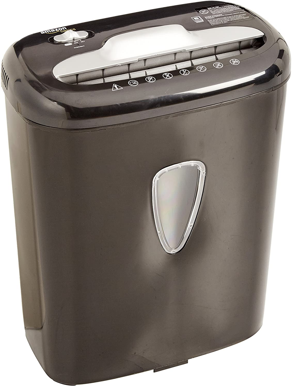 Fellowes 9C4 9-Sheet Powershred Cross-Cut Deskside Paper Shredder