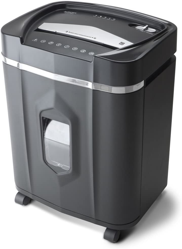 Aurora AU1210MA Professional Grade High-Security 12-Sheet Micro-Cut Shredder